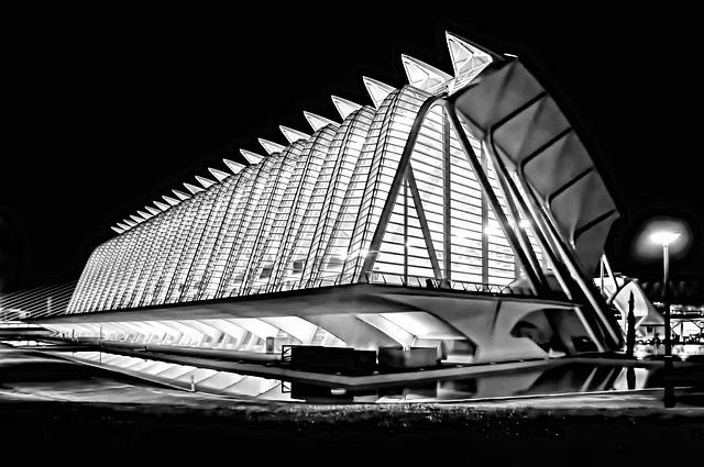 City Of Arts And Sciences, Valencia, Spain