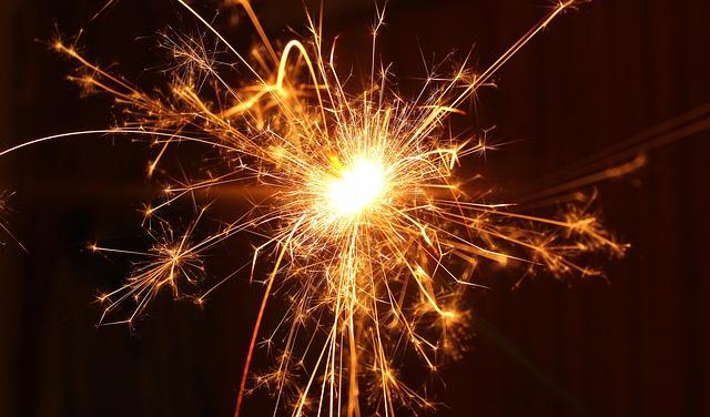 Flame, Fireworks, Spark, Sparkler, The Ceremony, Light