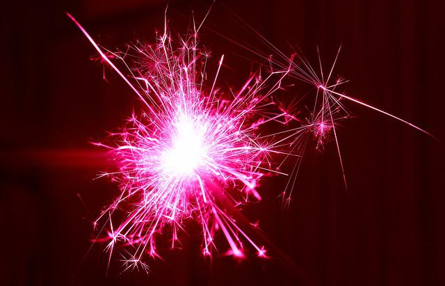 New Year's Day, New Year's Eve, Fireworks, Spark