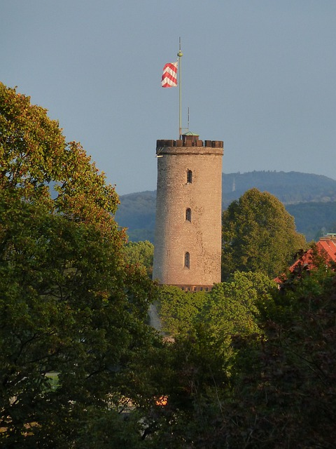 Bielefeld, Sparrenburg, Flag