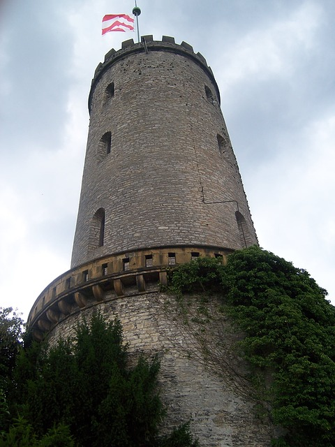Sparrenburg, Bielefeld, Castle, Tower, Substantiate