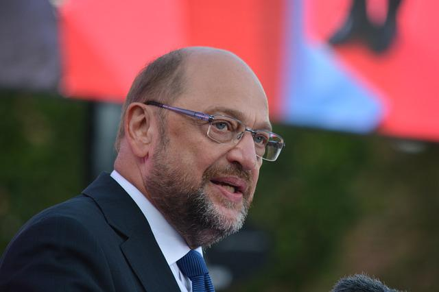 Man, Martin Schulz, Candidate For Chancellor, Spd