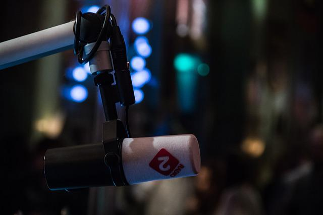 Radio, Microphone, Talk, Presenter, Dj, Speak