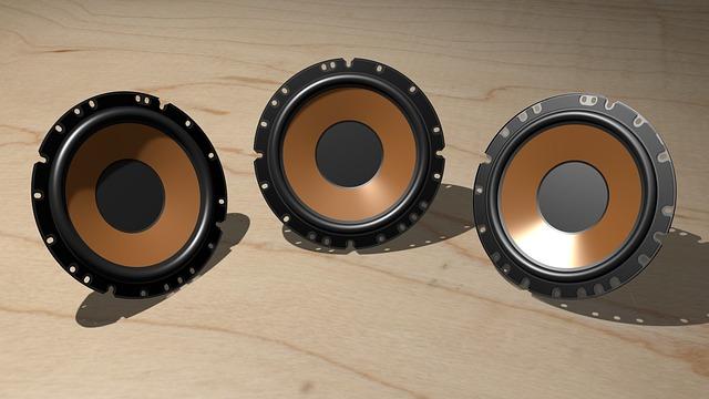 Electronics, Audio, Speakers, 3d