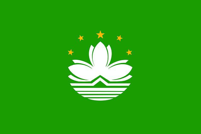 Macao, Macau, Flag, Official, Special, Administrative