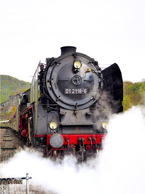 Steam Locomotive, Special Train, Kreuzberg