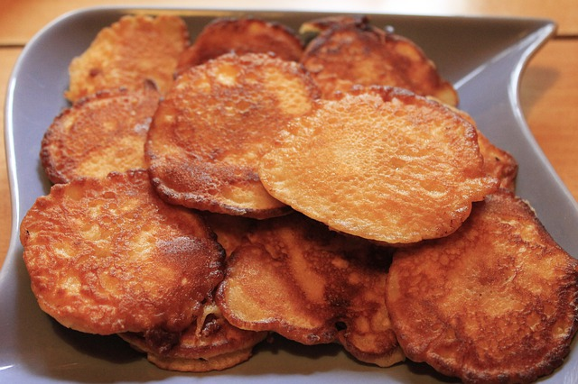 Apfelkuechle, Apple Fritters, Sweet Dish, Specialty