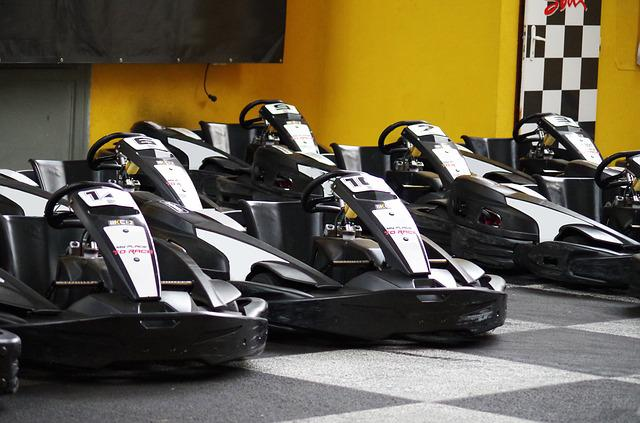 Go Karts, Race, Speed