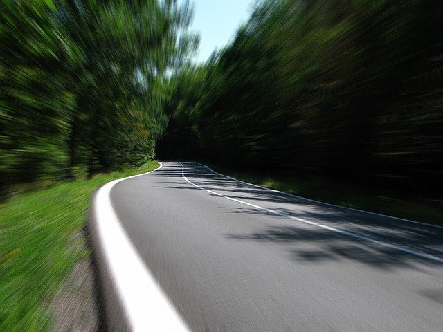 Road, Speed, Secondary Road, Country Road, Woods