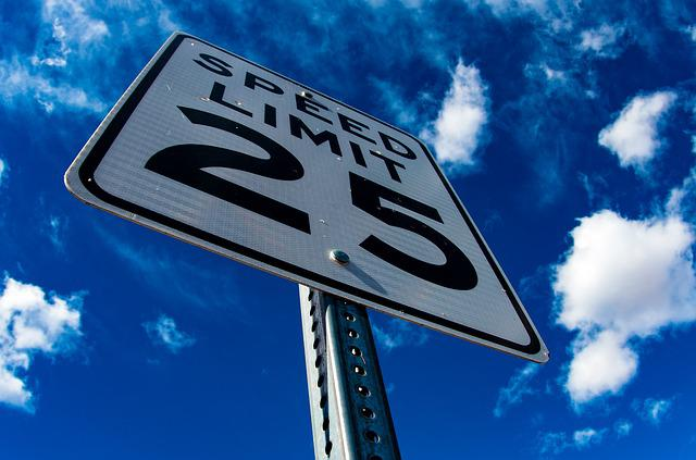Street, Sign, Speed, Limit, Road, Road Sign