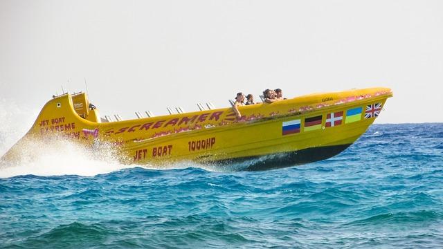 Speed Boat, Water Sports, Speed, Water, Fun, Summer