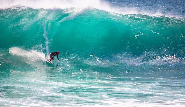 Surfing, Big Waves, Speed, The Indian Ocean