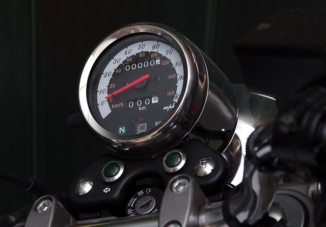 Motorcycle, Speedometer, Dashboard, Speedo