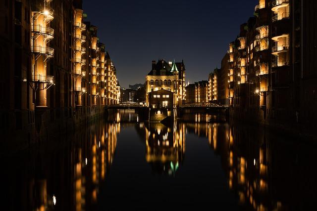 Hamburg, Speicherstadt, Architecture, Building