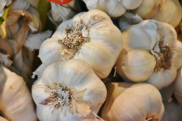 Garlic, Food, Vegetables, Clove Of Garlic, Spice