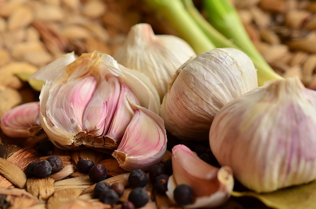 Garlic, Tubers, Food, Spice, Herb, Aromatic, Healthy