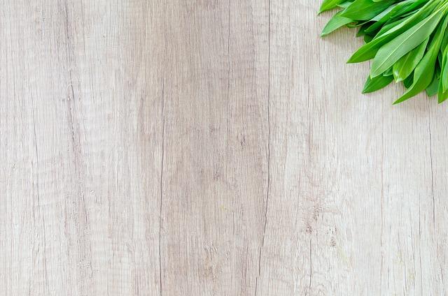Wood, Table, Herb, Garlic, Food, Green, Spice, Leaf