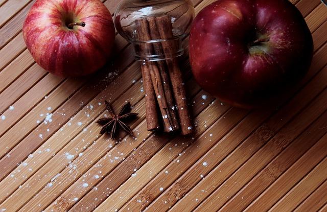 Apples, Cinnamon, Spices, Seeds, Christmas, Aroma, Food