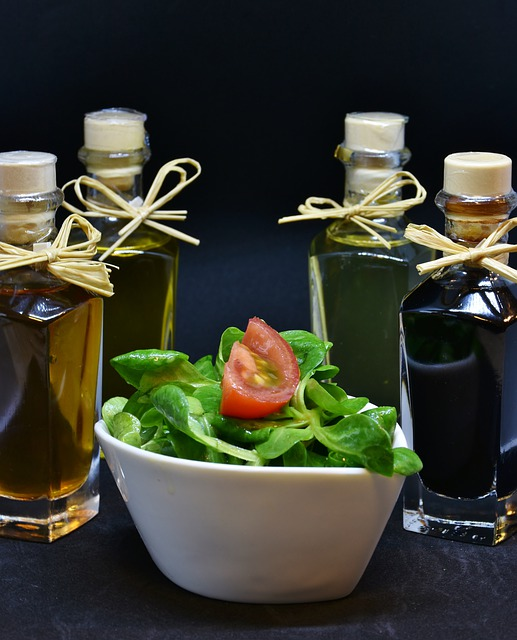 Oil, Olive Oil, Walnut Oil, Vinegar, Spices