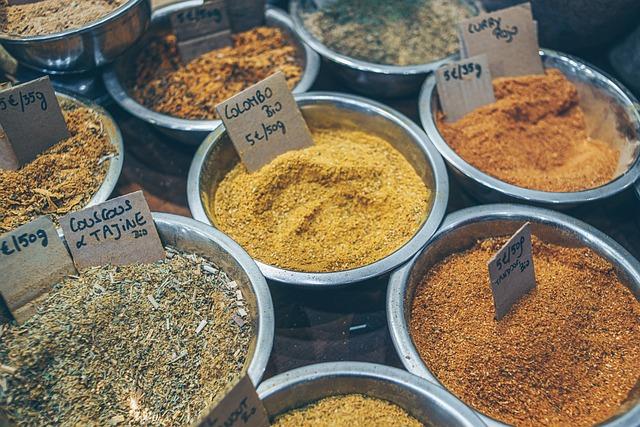 Spices, Spicy, Market, Kitchen, Cook, Flavor
