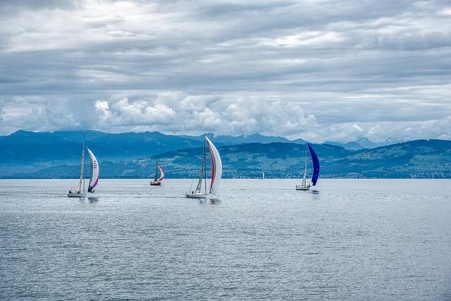 Sailing Boats, Sail, Headsail, Spinnaker