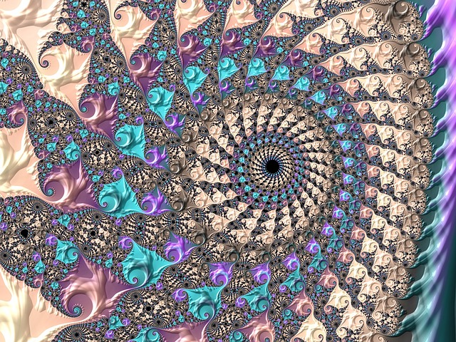 Art, Abstract, Fractal, Spiral