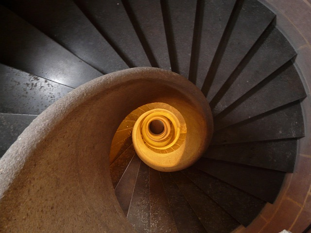 Stairs, Spiral Staircase, Emergence, Gradually