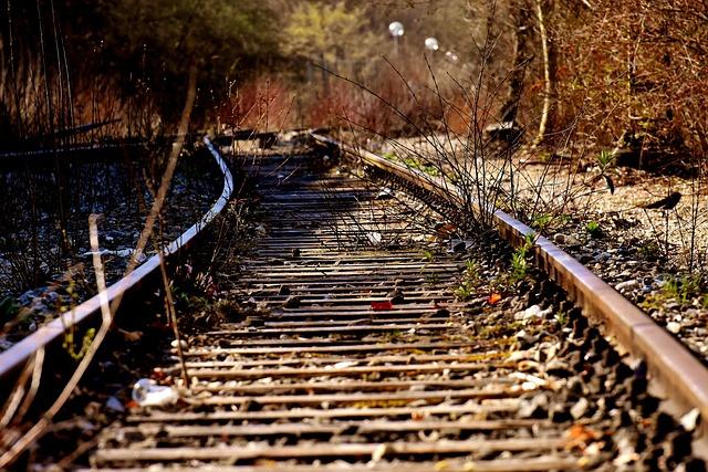 Rails, Old Railroad Tracks, Lost Places, Spirit Station