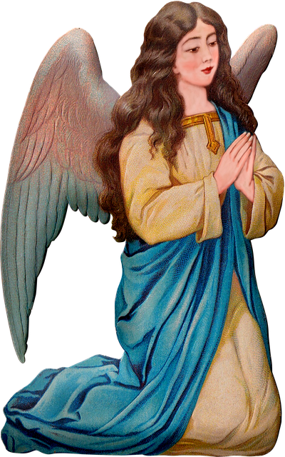 Vintage Angel, Angel, Praying, Spirituality, Antique