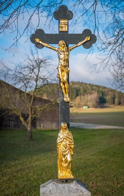 Cross, Religion, Church, Deity, Spirituality, Sky