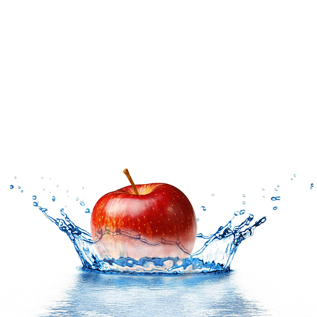 Apple, Splash, Food, Immersion, Healthy, Inject, Fresh