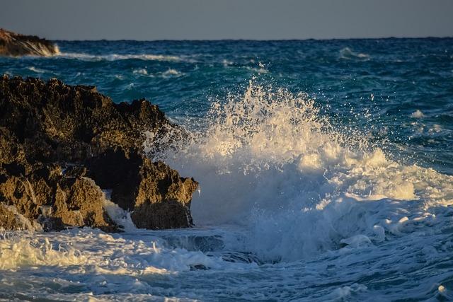 Water, Nature, Sea, Spray, Wave, Splash, Winter