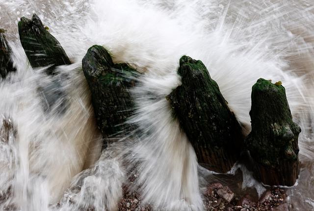 Splash, Wave, Break, Water, Motion, Splashing, Flowing
