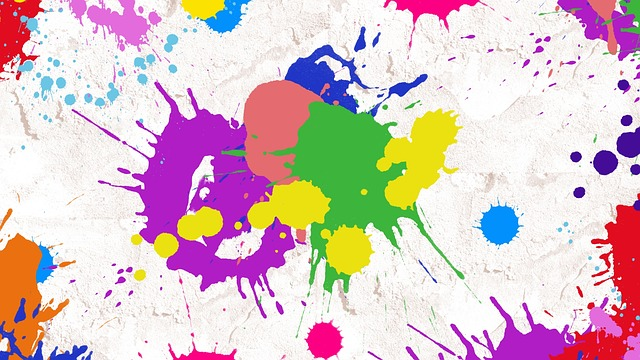 Splatter Paint, Abstract, Art, Paint, Splatter
