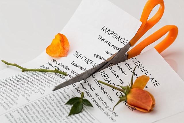 Divorce, Separation, Marriage Breakup, Split, Argument
