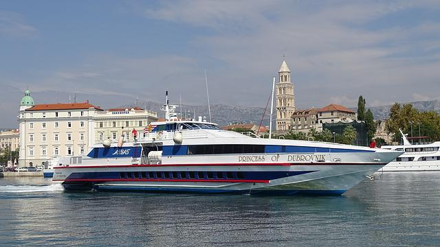 Speedboat, Yacht, Croatia, Powerboat, Ship, Split