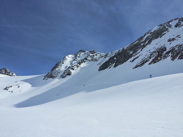 Snowboard, Splitboard, Stubaital, Stubai Glacier