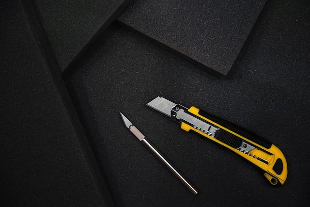 Knife, Tools, Cutting, Constructing, Sponge, Cut, Diy