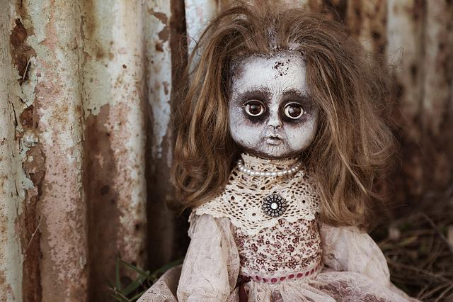 Doll, Creepy, Spooky, Horror