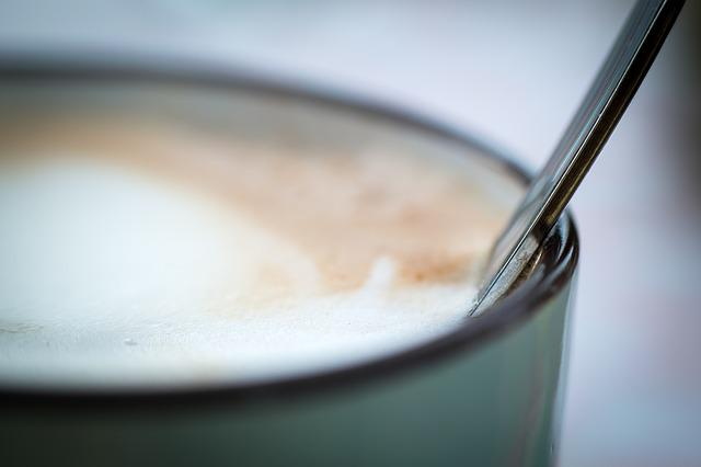 Spoon, Cup, Coffee, Coffee Cup, Foam, Cafe, Cappuccino