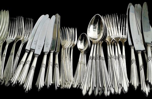 Cutlery, Panel Cutlery, Knife, Forks, Spoon, Silverware