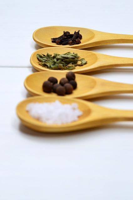 Wood, Food, Spoon, Traditional, Healthy, Approach