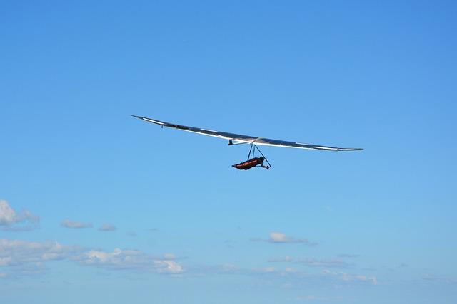 Hang Gliding, Aircraft, Adventure, Sport, Sky