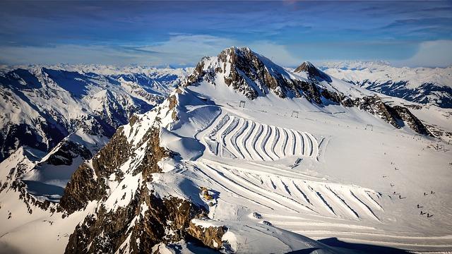 Kitzsteinhorn, Kaprun, Salzburg, Austria, Sport, Ski