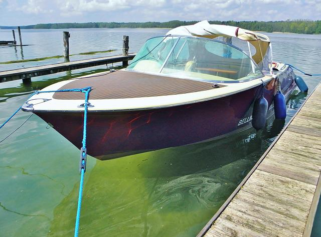Boot, Sport Boat, Open, Electric Drive, Marina