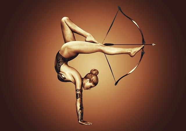 Girl, Sport, Bow, Arrow, Exercise, Athlete, Archery