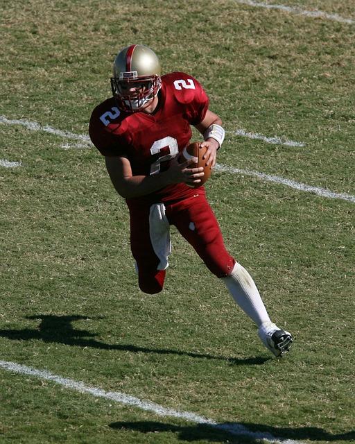 Football Player, Quarterback, College Football, Sport