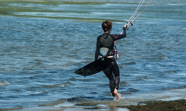 Kitesurfing, Combination, Sport, Kitesurfer, Board