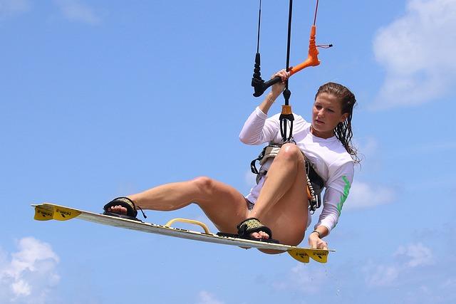 Fun, Outdoors, Leisure, Recreation, Sport, Kitesurf