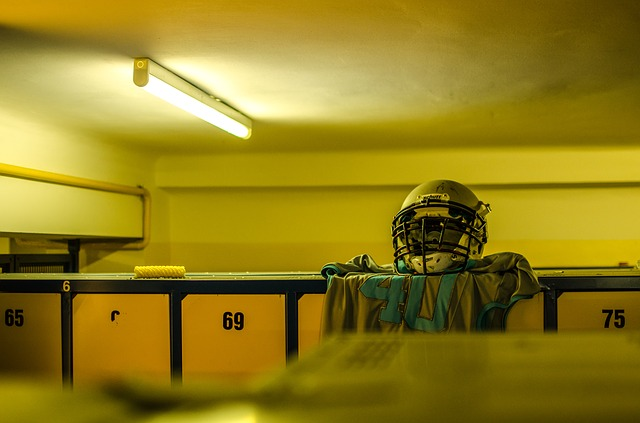 Sport, Changing Room, American Football, Layout